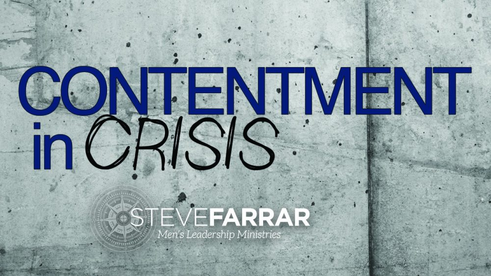 Contentment In Crisis