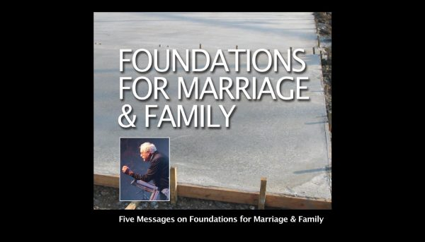 Foundations For Marriage And Family