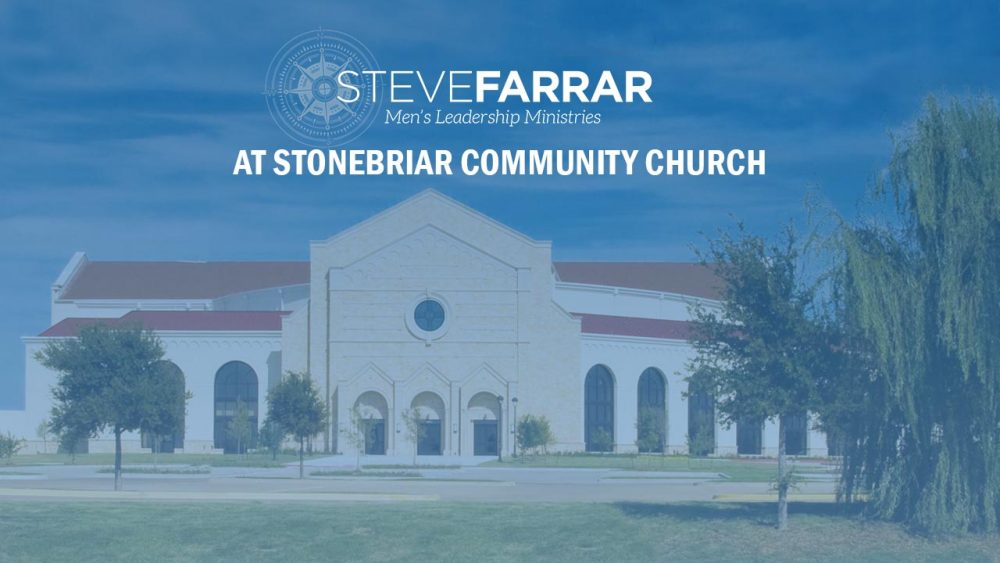 Preaching at Stonebriar Community Church