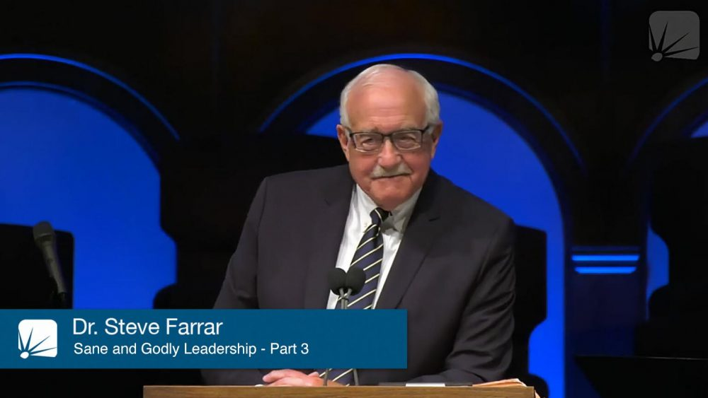 Sane and Godly Leadership, Part Three Image